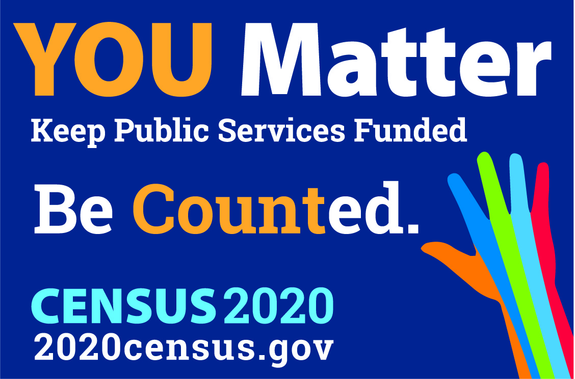 You Matter Be Counted Census Banner