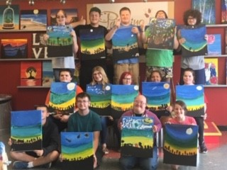 Youth Group Paint